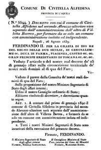 decreto civitella
